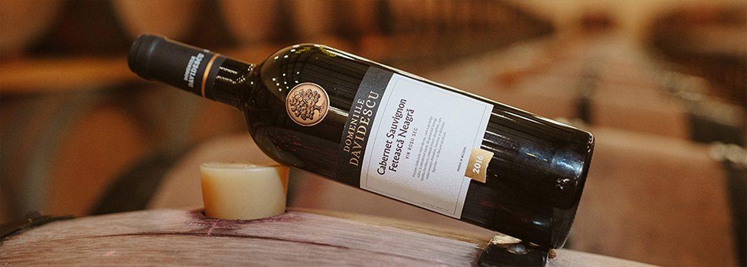 sticla de cabernet sauvignon feteasca neagra